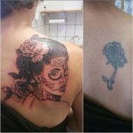 Cover-up by Sarah